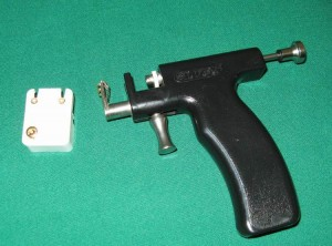 cartilage piercing gun