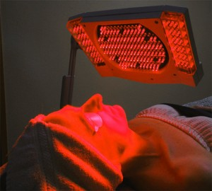 red light therapy pictures