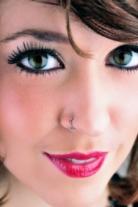 Pictures of Nose Piercing