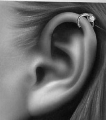 helix piercing pictures