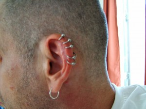 Helix Piercings pictures