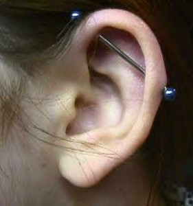 pictures of Industrial Piercing