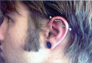 Scaffold Piercing pictures