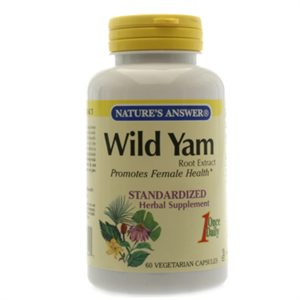 Wild Yam Extract Supplement Image